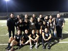 Marquez Gladiators Girls Varsity Soccer Winter 18-19 team photo.
