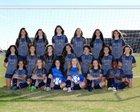Tomball Memorial Wildcats Girls Varsity Soccer Winter 18-19 team photo.