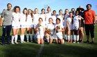 Pacifica Christian/Orange County Tritons Girls Varsity Soccer Winter 18-19 team photo.