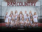Maricopa Rams Girls Varsity Soccer Winter 18-19 team photo.