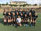 Bayfront Charter Sharks Girls Varsity Soccer Winter 18-19 team photo.