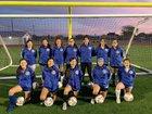 Corpus Christi Moody Trojans Girls Varsity Soccer Winter 18-19 team photo.