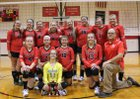 Westover Christian Academy Bulldogs Girls Freshman Volleyball Fall 17-18 team photo.