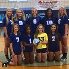South Granville Vikings Girls JV Volleyball Fall 15-16 team photo.