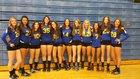 Prescott Badgers Girls JV Volleyball Fall 15-16 team photo.
