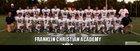 Franklin Christian Academy Falcons Boys Varsity Football Fall 13-14 team photo.