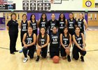 Mescalero Apache Chiefs Girls JV Basketball Winter 17-18 team photo.