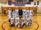 River Ridge Royal Knights Girls JV Basketball Winter 17-18 team photo.