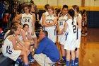 Mathews Blue Devils Girls JV Basketball Winter 17-18 team photo.