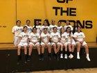 Rubidoux Falcons Girls JV Basketball Winter 17-18 team photo.