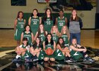 Youngker Roughriders Girls JV Basketball Winter 17-18 team photo.