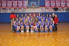 Simpson Academy Cougars Girls JV Basketball Winter 17-18 team photo.