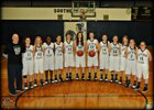 Southern Cloud co-op [Miltonvale/Glasco] Warriors Girls JV Basketball Winter 17-18 team photo.
