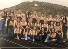 Capitan Tigers Girls Varsity Track & Field Spring 18-19 team photo.