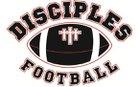 Central Virginia Disciples Disciples Boys JV Football Fall 16-17 team photo.