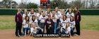Hallettsville Brahmas Girls Varsity Softball Spring 13-14 team photo.