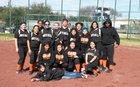 North Dallas Bulldogs Girls Varsity Softball Spring 13-14 team photo.