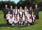 Carondelet Cougars Girls Varsity Softball Spring 13-14 team photo.