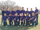 Clovis Wildcats Boys Varsity Golf Spring 17-18 team photo.