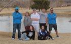 West Mesa Mustangs Boys Varsity Golf Spring 17-18 team photo.