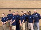 Cleveland Rams Boys Varsity Golf Spring 17-18 team photo.