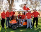 Artesia Bulldogs Boys Varsity Golf Spring 17-18 team photo.