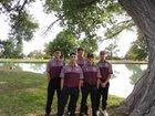 Belen Eagles Boys Varsity Golf Spring 17-18 team photo.