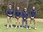Hopewell Titans Boys Varsity Golf Spring 17-18 team photo.