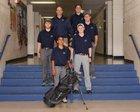 Silver Fighting Colts Boys Varsity Golf Spring 17-18 team photo.
