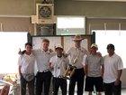 Los Lunas Tigers Boys Varsity Golf Spring 17-18 team photo.
