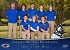 Christian Brothers Falcons Boys Varsity Golf Spring 17-18 team photo.