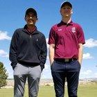 Gadsden Panthers Boys Varsity Golf Spring 17-18 team photo.