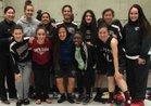 Ann Sobrato Bulldogs Girls Varsity Basketball Winter 17-18 team photo.