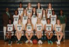Episcopal Wildcats Girls Varsity Basketball Winter 17-18 team photo.