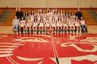 Harding Academy Wildcats Girls Varsity Basketball Winter 17-18 team photo.