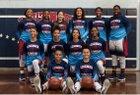 Leuzinger Olympians Girls Varsity Basketball Winter 17-18 team photo.