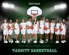 Fort Myers Green Wave Girls Varsity Basketball Winter 17-18 team photo.