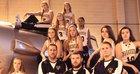 Ovid-Elsie Marauders Girls Varsity Basketball Winter 17-18 team photo.