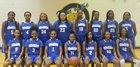 Simeon Wolverines Girls Varsity Basketball Winter 17-18 team photo.