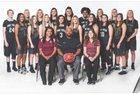 Pine View Panthers Girls Varsity Basketball Winter 17-18 team photo.