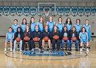 Cleveland Storm Girls Varsity Basketball Winter 17-18 team photo.