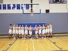 Chimacum Cowboys Girls Varsity Basketball Winter 17-18 team photo.