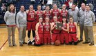 Sheridan Generals Girls Varsity Basketball Winter 17-18 team photo.