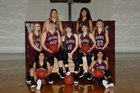 Western Yell County Wolverines Girls Varsity Basketball Winter 17-18 team photo.