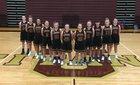 University Titans Girls Varsity Basketball Winter 17-18 team photo.