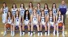 Elida Tigers Girls Varsity Basketball Winter 17-18 team photo.