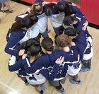 Jurupa Valley Jaguars Girls Varsity Basketball Winter 17-18 team photo.