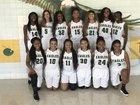 New Madrid County Central Eagles Girls Varsity Basketball Winter 17-18 team photo.