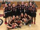 Glendora Tartans Girls Varsity Basketball Winter 17-18 team photo.