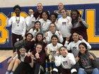 Rancho Mirage Rattlers Girls Varsity Basketball Winter 17-18 team photo.